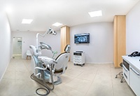 Image of modern dental office with advanced technology.